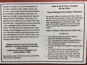 POLICE CARD 2