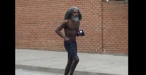 Baltimore Running Man