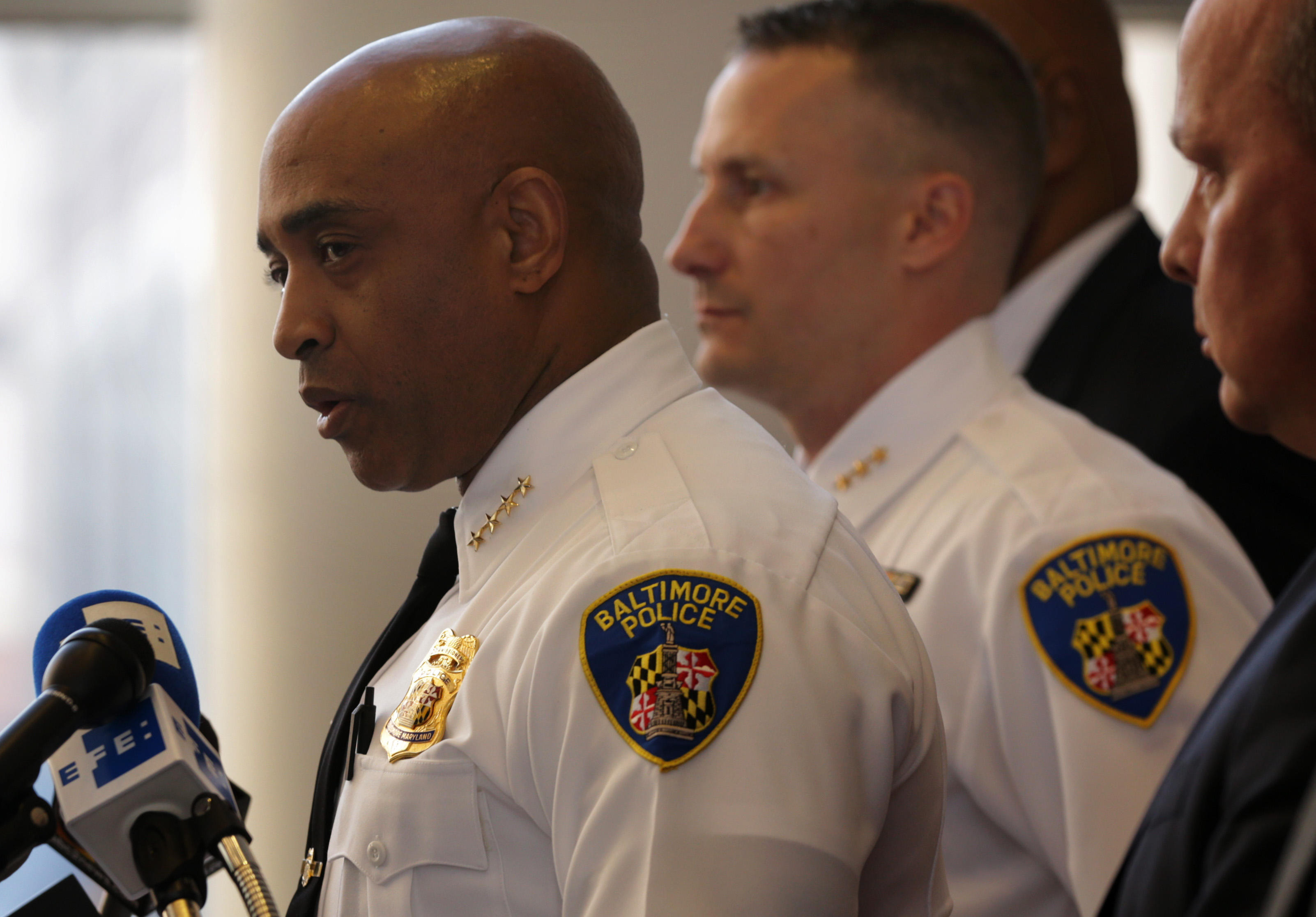 Police Commissioner Anthony Batts