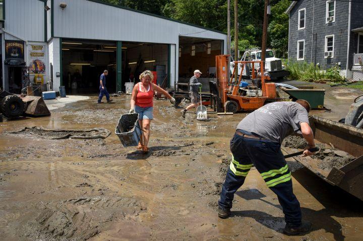 Flooding in Ellicott City, Maryland