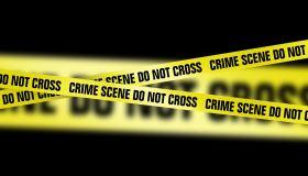 Crime scene tape, artwork