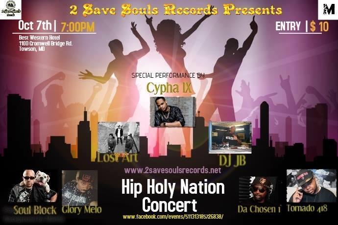 Hip Holy Nation Concert