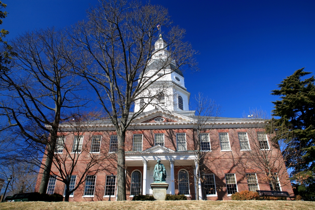 State Capitol Building-Annapolis, Maryland, USA