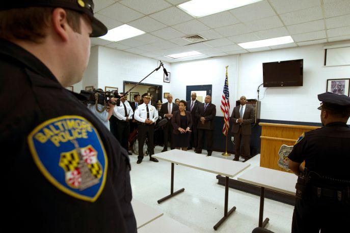 Loretta Lynch Visits Baltimore