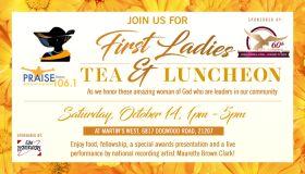 first ladies tea 2017