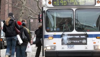 Commuters Return To Mass Transit After Three Day Strike