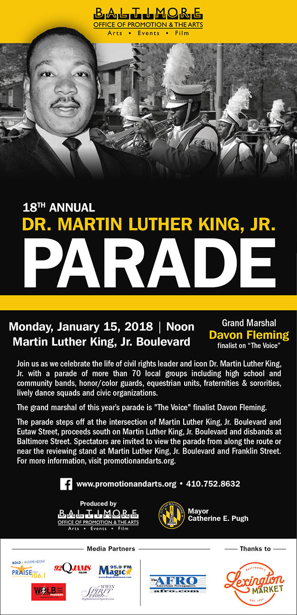 MLK Day in Baltimore