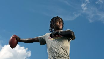 Redskins' rookie starting quarterback Robert Griffin III