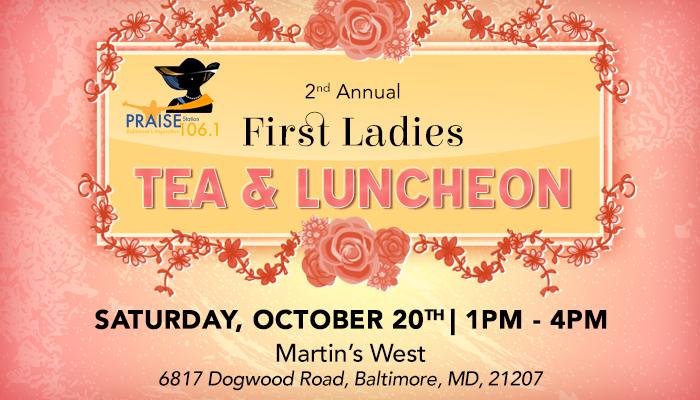 Baltimore's First Ladies Tea 2018 Promo Image