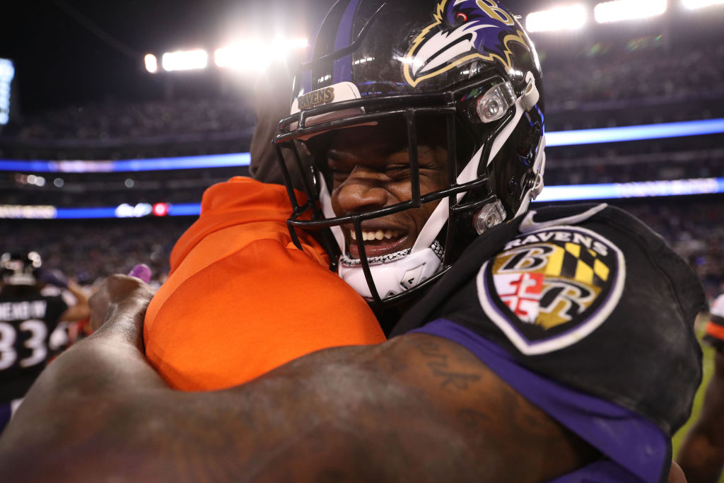 cb685b39 Ravens Beat Browns to Become AFC North Champions | WOLB Talk 1010