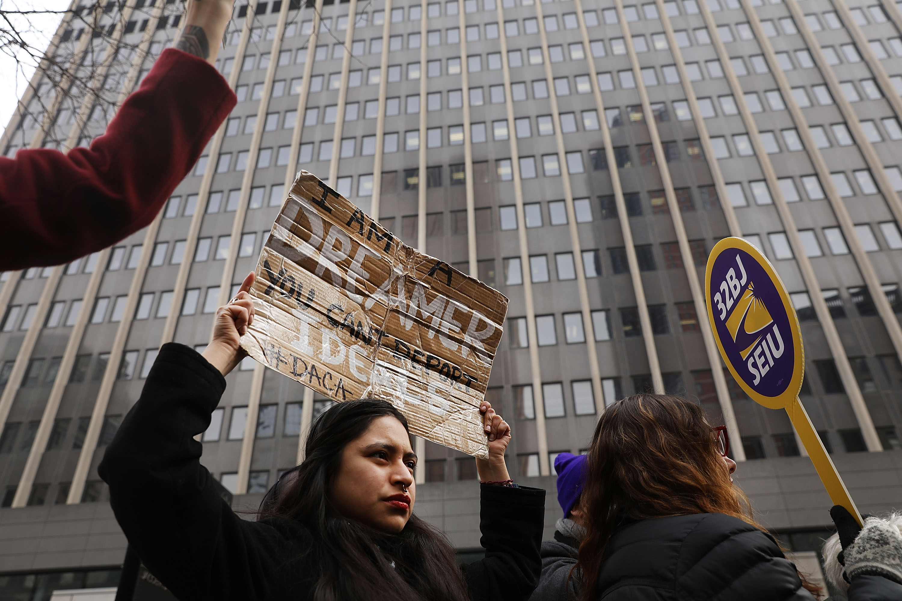 Activists In New York Protest Government Shutdown