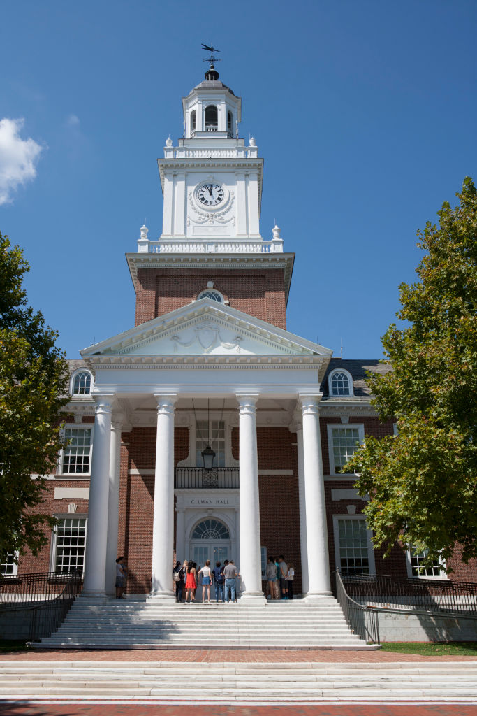 Gilman Hall, Johns Hopkins University, Baltimore, Maryland, USA