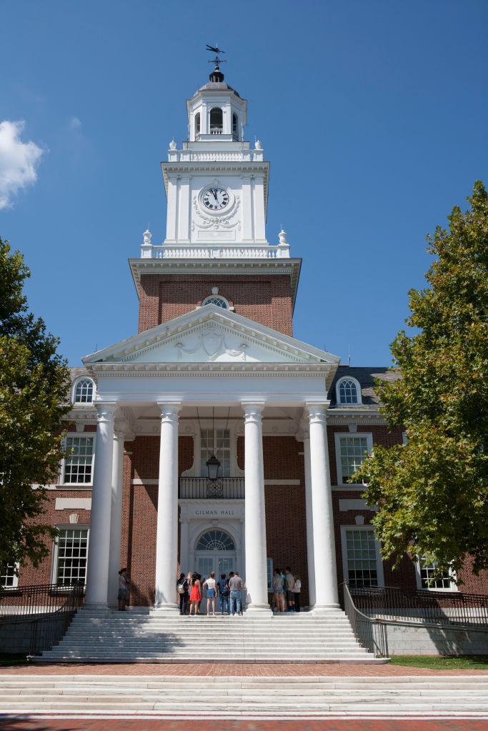 Gilman Hall, Johns Hopkins University, Baltimore, Maryland, USA