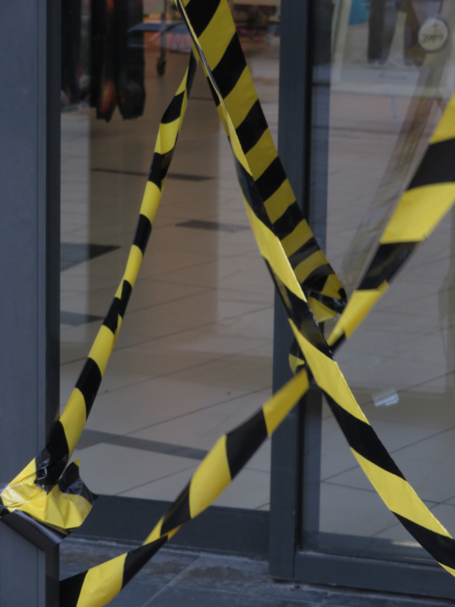 Close-Up Of Yellow Barrier