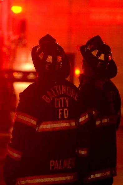 BALTIMORE-FIRE