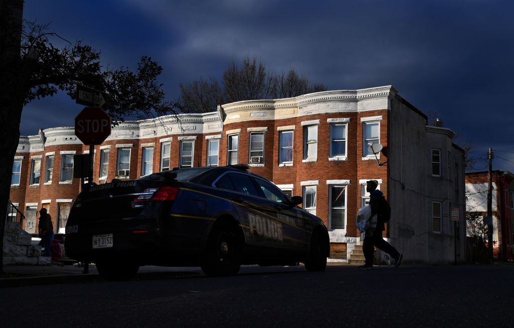 A Second Young Girl is Shot on the Streets of Baltimore
