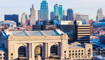 Kansas City panorama with Union Station