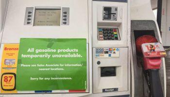 Gasoline Shortage In Ontario