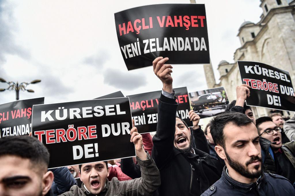TURKEY-NEW ZELAND-ATTACK-DEMO