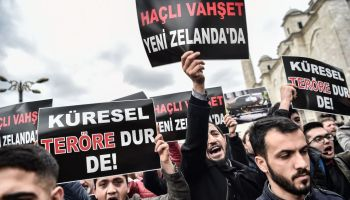TURKEY-NEW ZELAND-ATTACK-DEMO