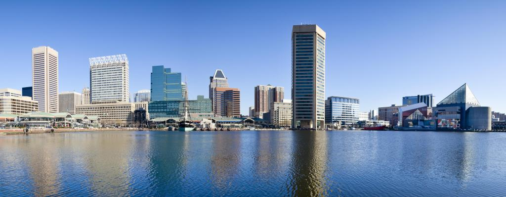 Baltimore Inner Harbor Panorama