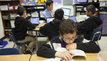 California schools use blended learning to teach students