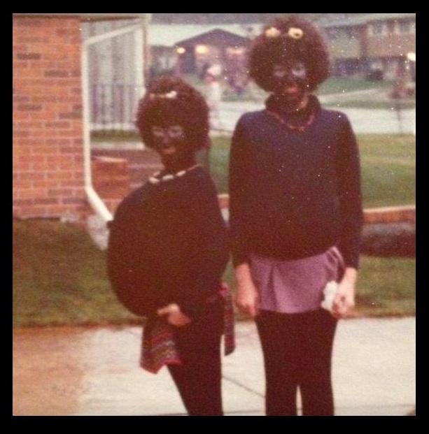 Purdue University instructor Lisa Stillman in blackface