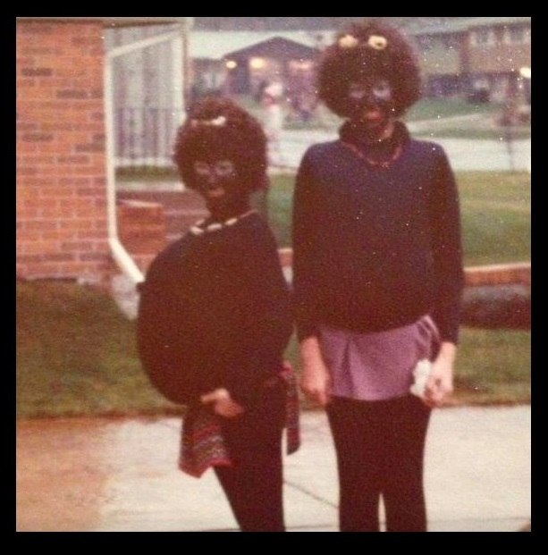 Purdue University instructor Lisa Stillman in blackface
