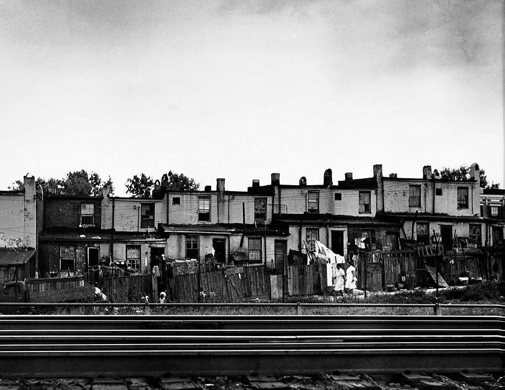 Run Down Baltimore Row Houses