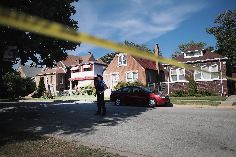 Two Girls Shot In Schoolyard Playground In Chicago