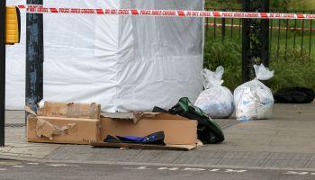 Stabbing in Turnpike Lane, North London