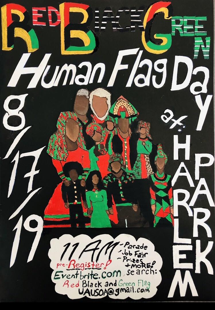 Human Flag Day