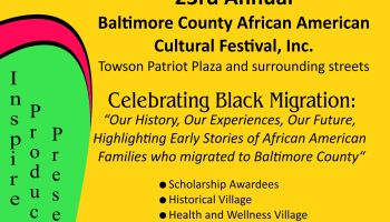 23rd Annual Baltimore County African American Cultural Festival