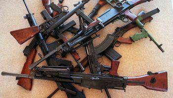 Generic guns, 4 December 1997. SHD Picture by JACKY GHOSSEIN
