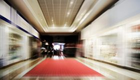 Shopping Centre-Motion Blurred-More in Lightboxes Below