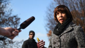 BALTIMORE, MD - DECEMBER 3: Baltimore Mayor Catherine Pugh marc