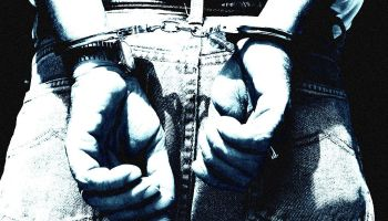 Generic handcuffs, hand cuffs, image, 8 December 1999. AFR Picture by MICHELE M