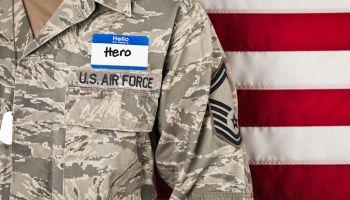 Military Hero - Horizontal