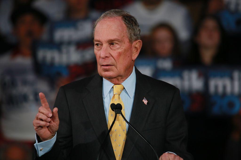 Mike Bloomberg visits Philadelphia
