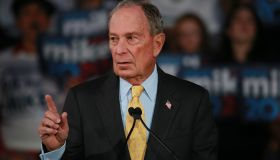 Mike Bloomberg visits Philadelphia