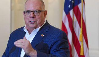 Coronavirus press briefing by Maryland Governor Larry Hogan