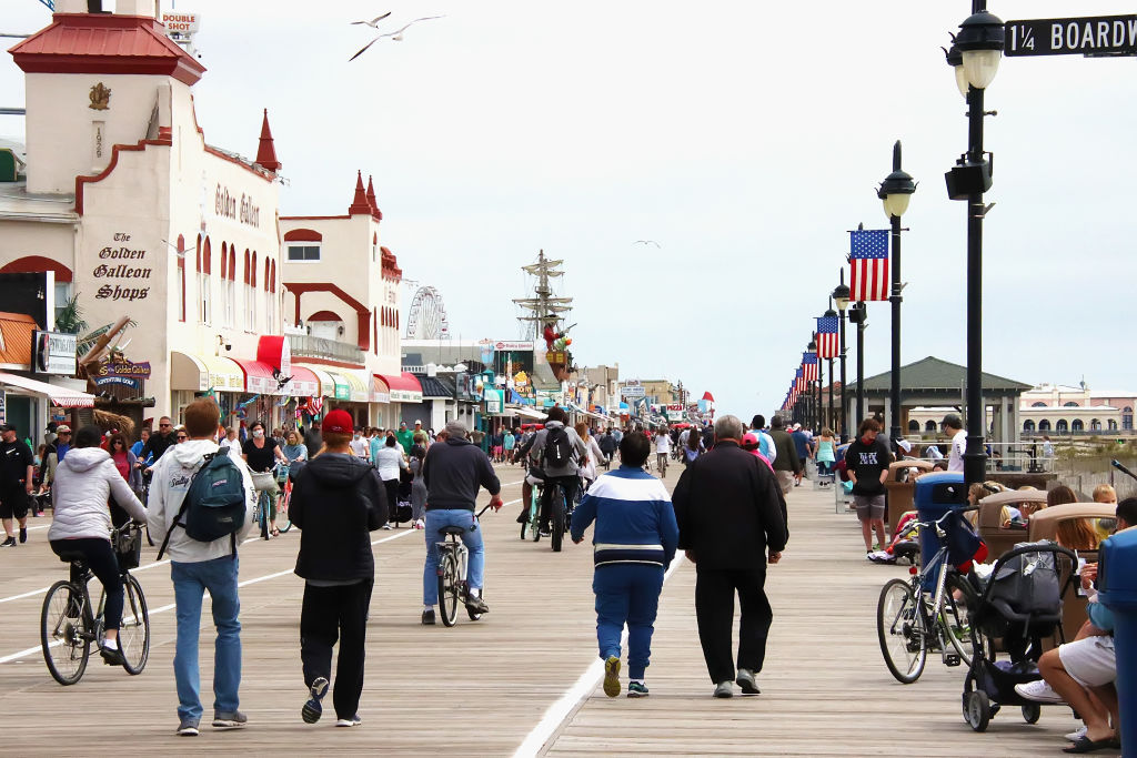 Ocean City Boardwalk Reopens For Memorial Day Weekend