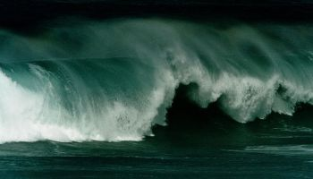 Generic wave, 15 August 2002. AFR Picture by MICHELE MOSSOP