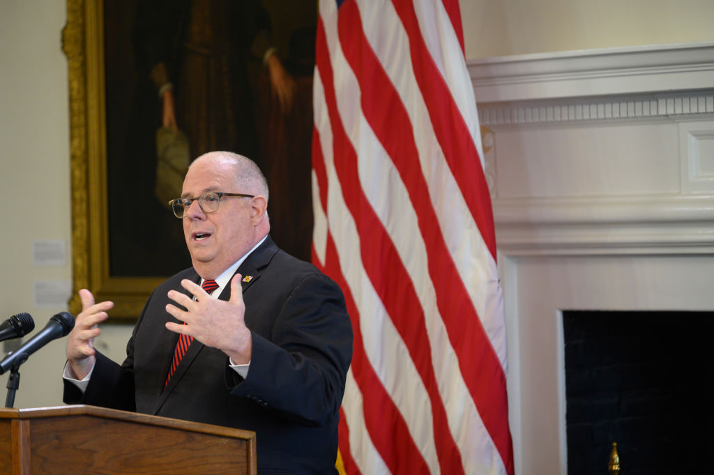 ANNAPOLIS MD - JUNE 03 Maryland Governor Larry Hogan said the s