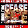 Baltimore Ceasefire Weekend