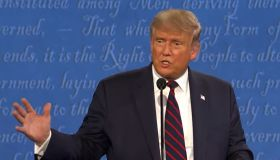 Donald Trump vs Joe Biden in first presidential debate